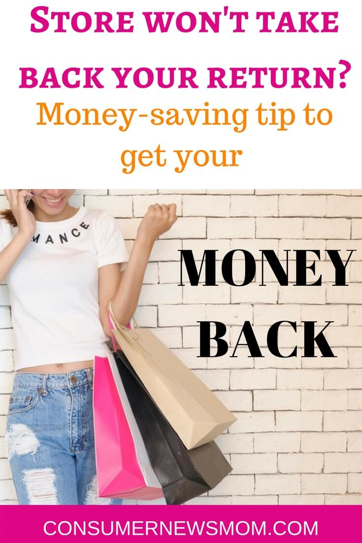 How To Get Your Money Back If A Store Won't Take Your Return