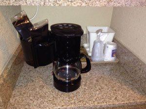 hotels selling coffee maker