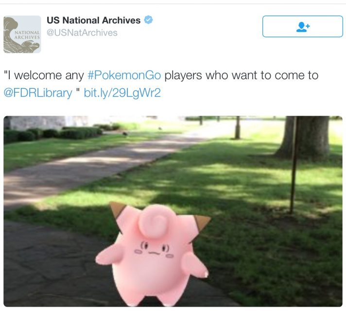 pokemon go national archives