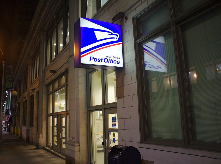 Post Office address change fee