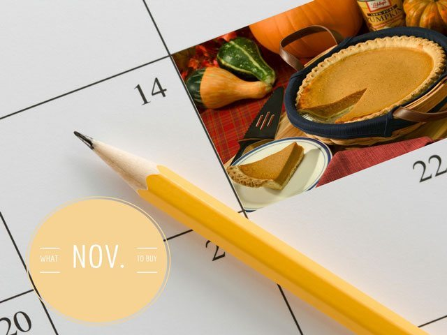 what to buy november