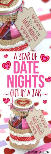 A Year Worth of Date Nights unique Valentine's Day