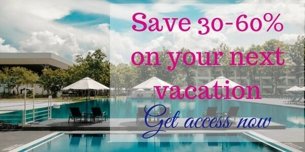 save 30-60% on your next vacation