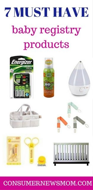 MUST HAVE BABY REGISTRY ITEMS