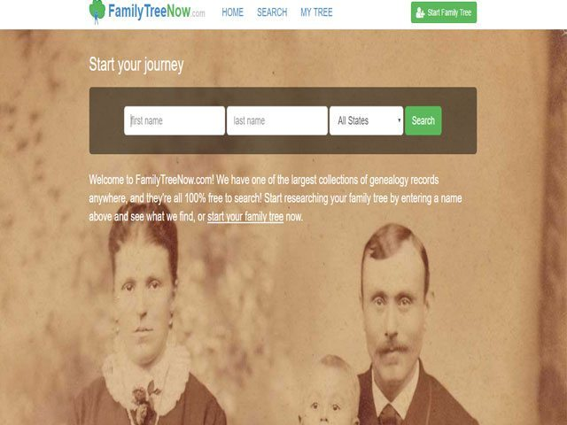 Family Tree Now opt out
