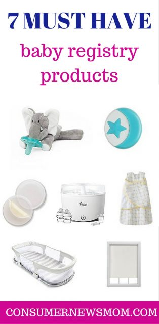 7 baby registry must have products
