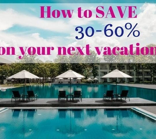 save 30-60% on your next trip