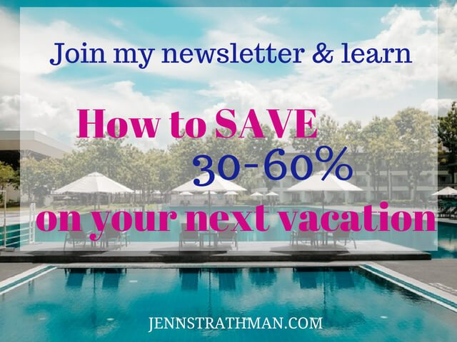 HOW TO SAVE 30-60% ON VACATION