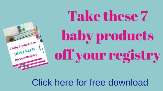 7 baby products you don't need