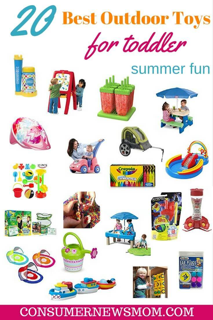 20 best toys for outdoor summer fun - 20 Summer Outdoor Toys For Toddlers (12-36 Months) Jenn Strathman
