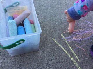 Crayola sidewalk chalk